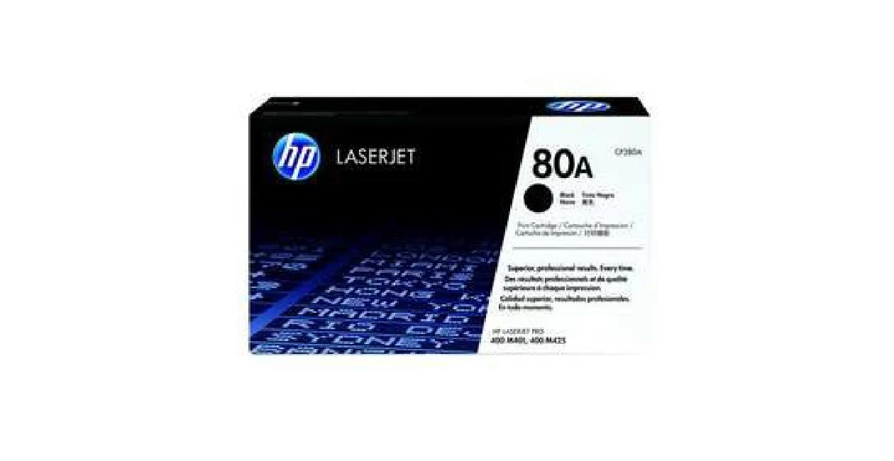 Compatible HP 80A Black Laserjet Toner Cartridge   Accessories & Supplies for Electronics for sale in Addis Ababa, Arada